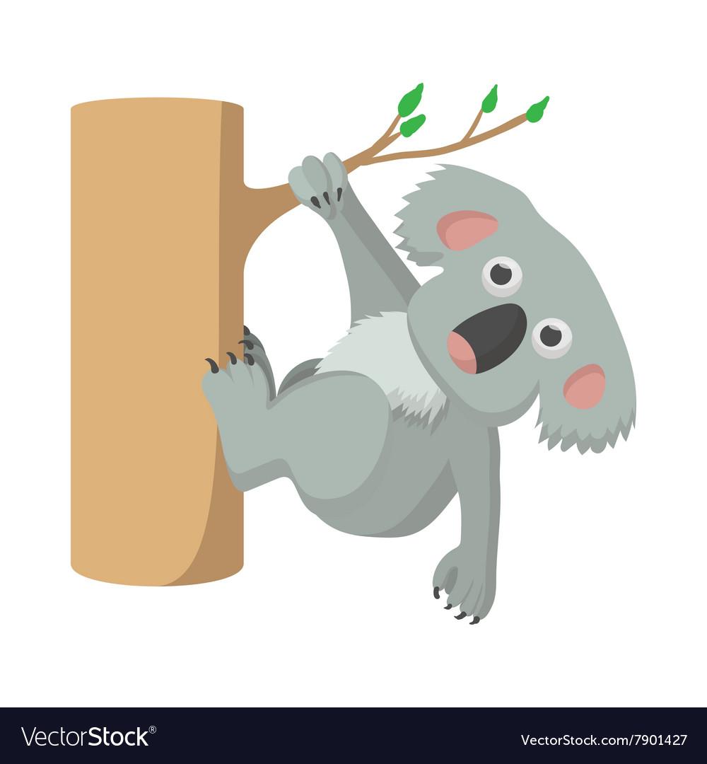 Koala icon cartoon style vector image