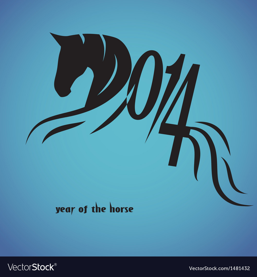 Horse 2014 year chinese symbol royalty free vector image horse 2014 year chinese symbol vector image biocorpaavc
