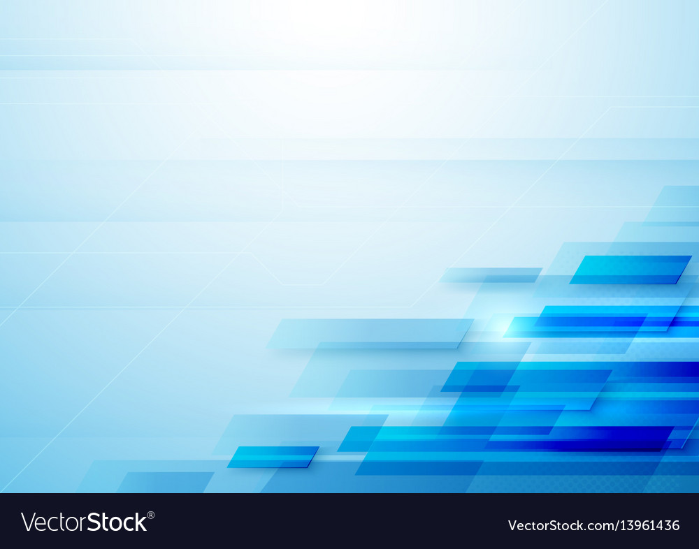 Abstract rectangles motion technology background vector image