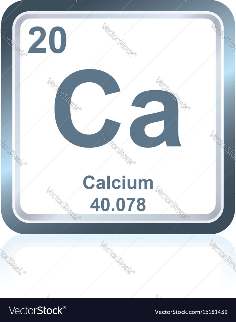 Chemical element calcium from the periodic table vector image chemical element calcium from the periodic table vector image biocorpaavc