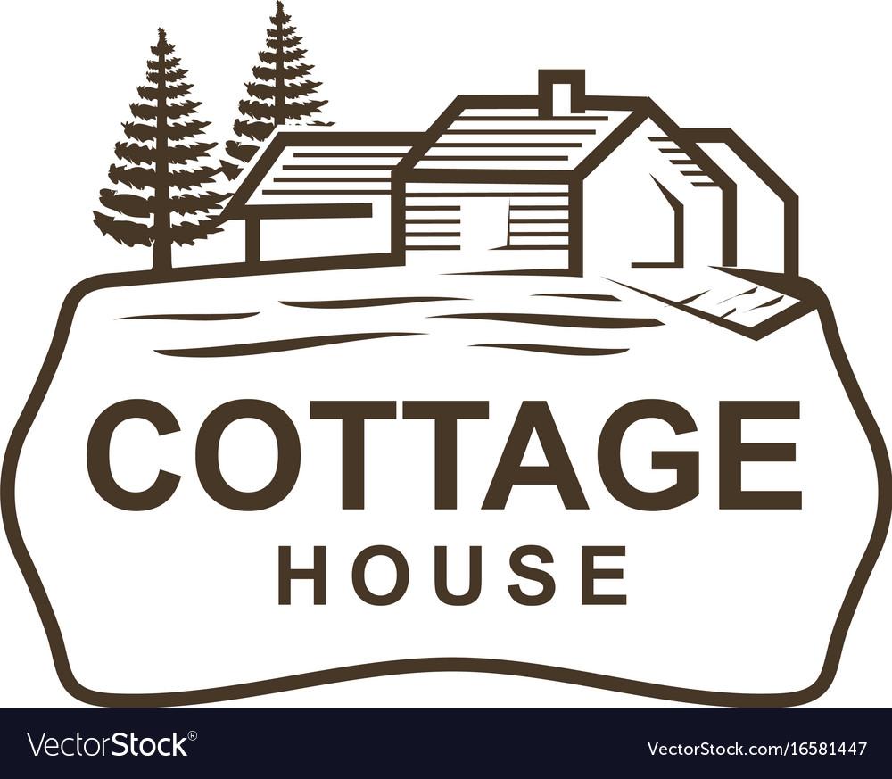 Cottage Logo Vector Image