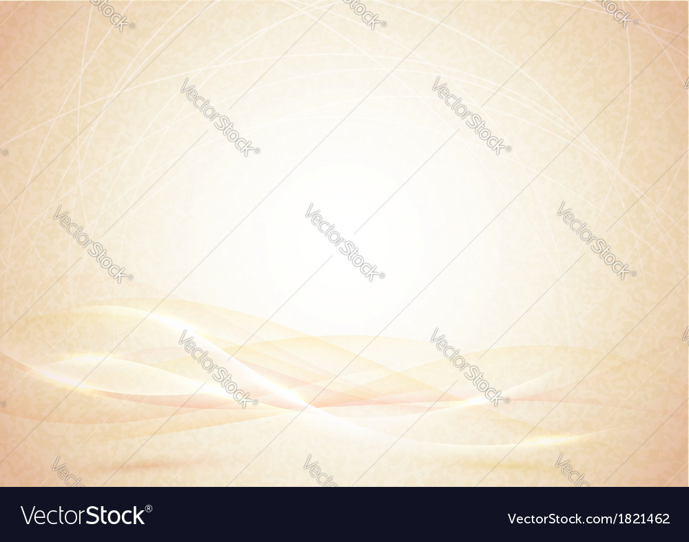 Beautiful grungy background with waves vector image