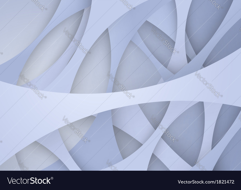 Layered abstract background template vector image