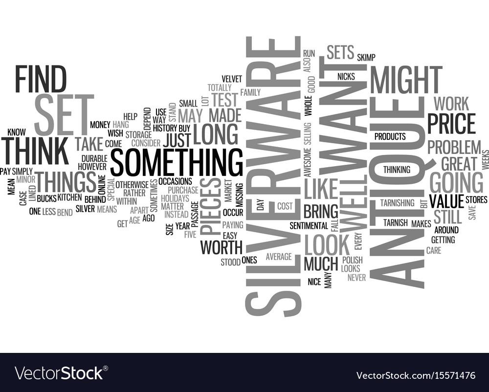Antique quilt text word cloud concept vector image