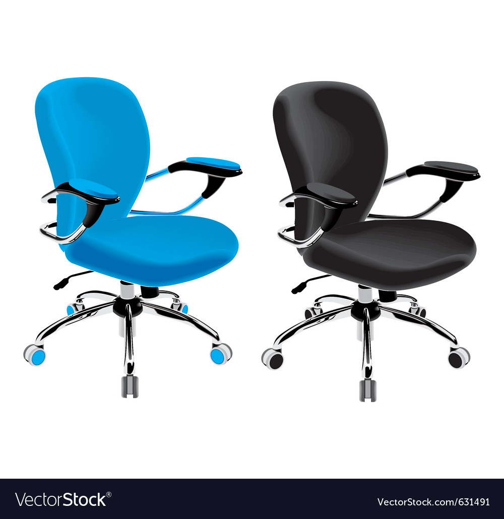 Color chair vector image