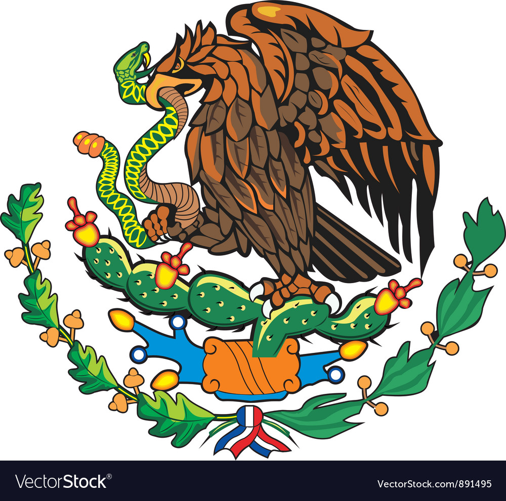 Mexico Coat-of-Arms vector image
