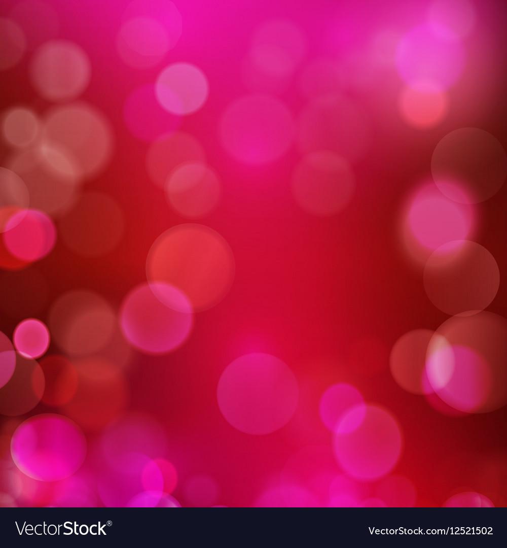 Dark red purple magenta bokeh blur vector image