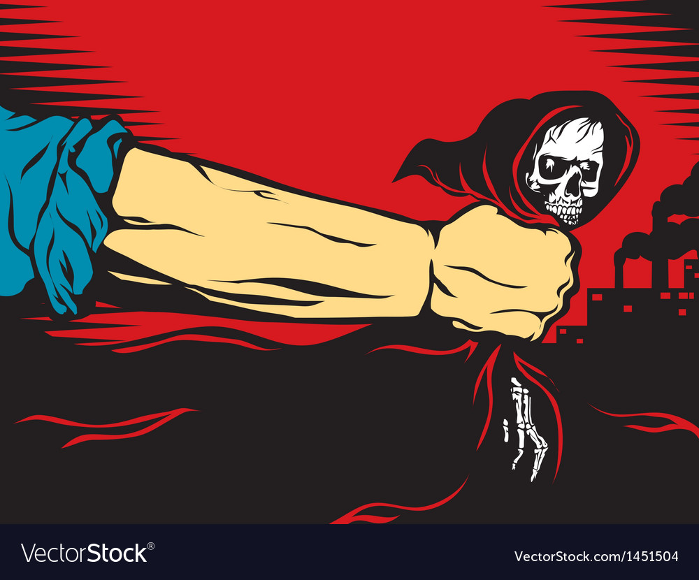Death is death vector image