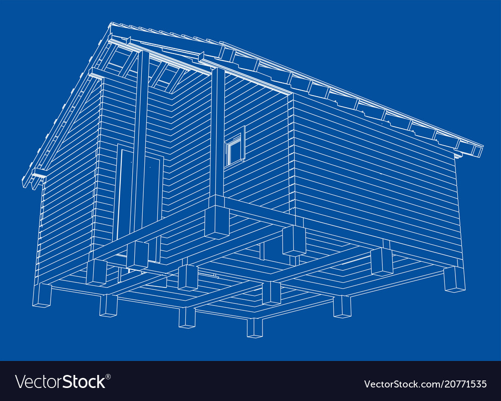 Bath house project royalty free vector image vectorstock for House project online