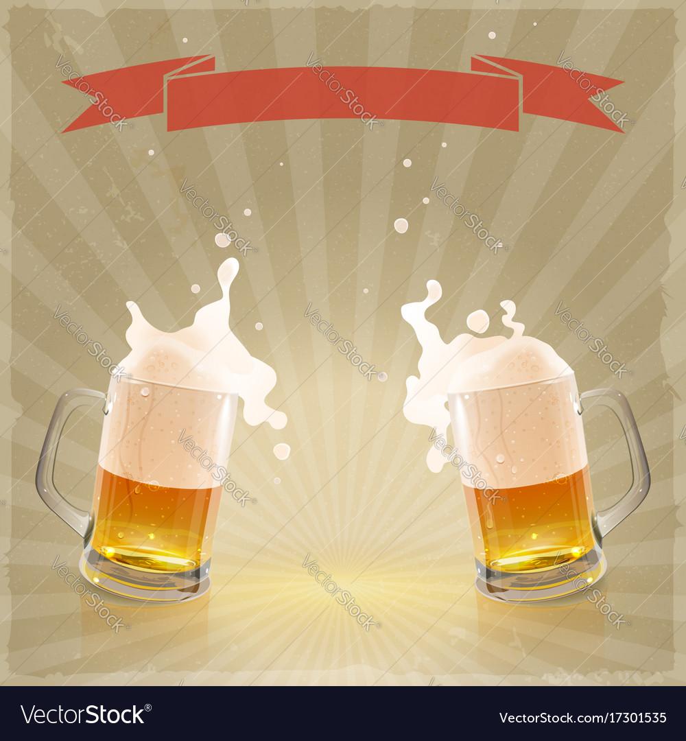 how to make beer foam
