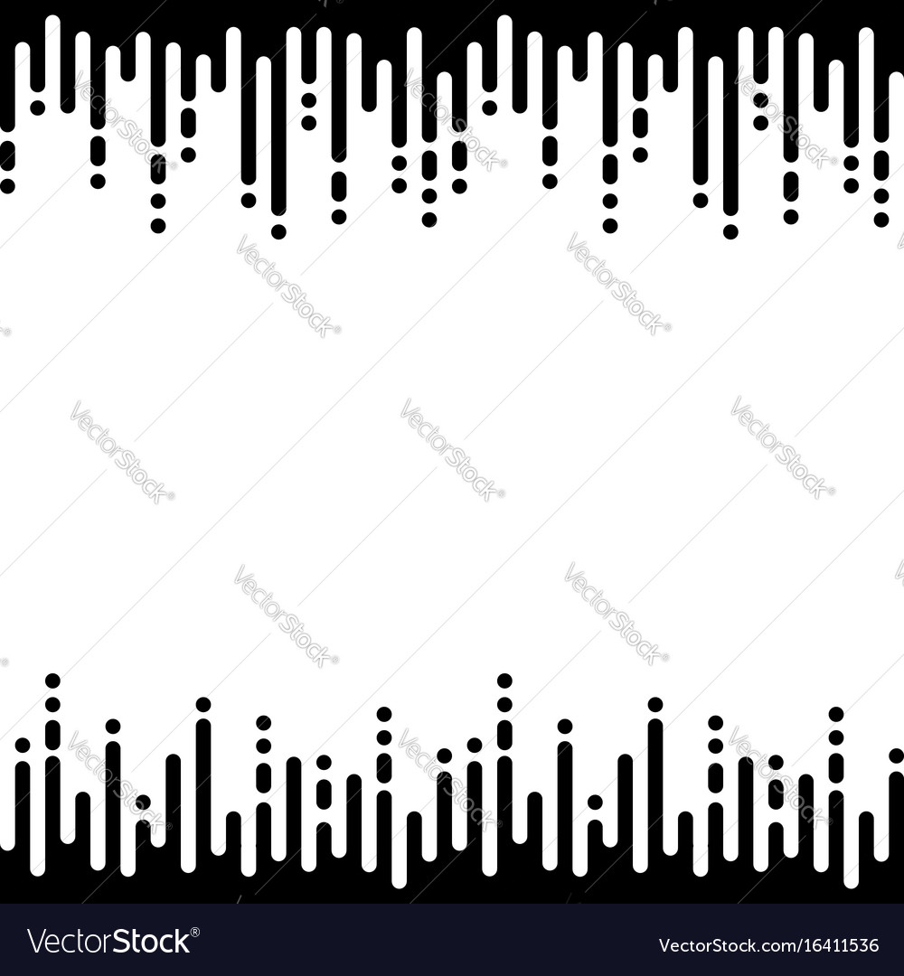 Seamless pattern with vertical rounded lines vector image