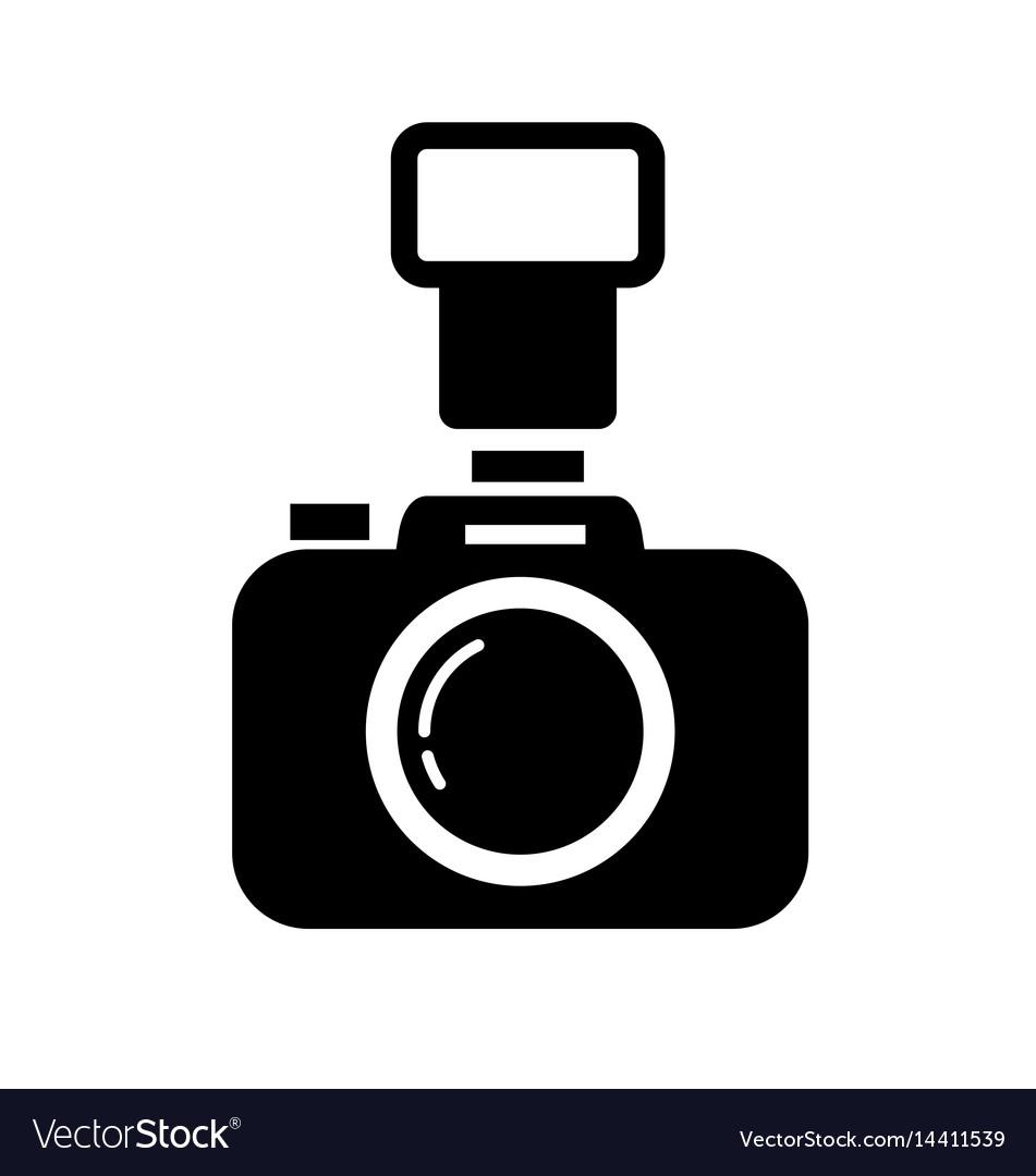 dslr camera royalty free vector image   vectorstock