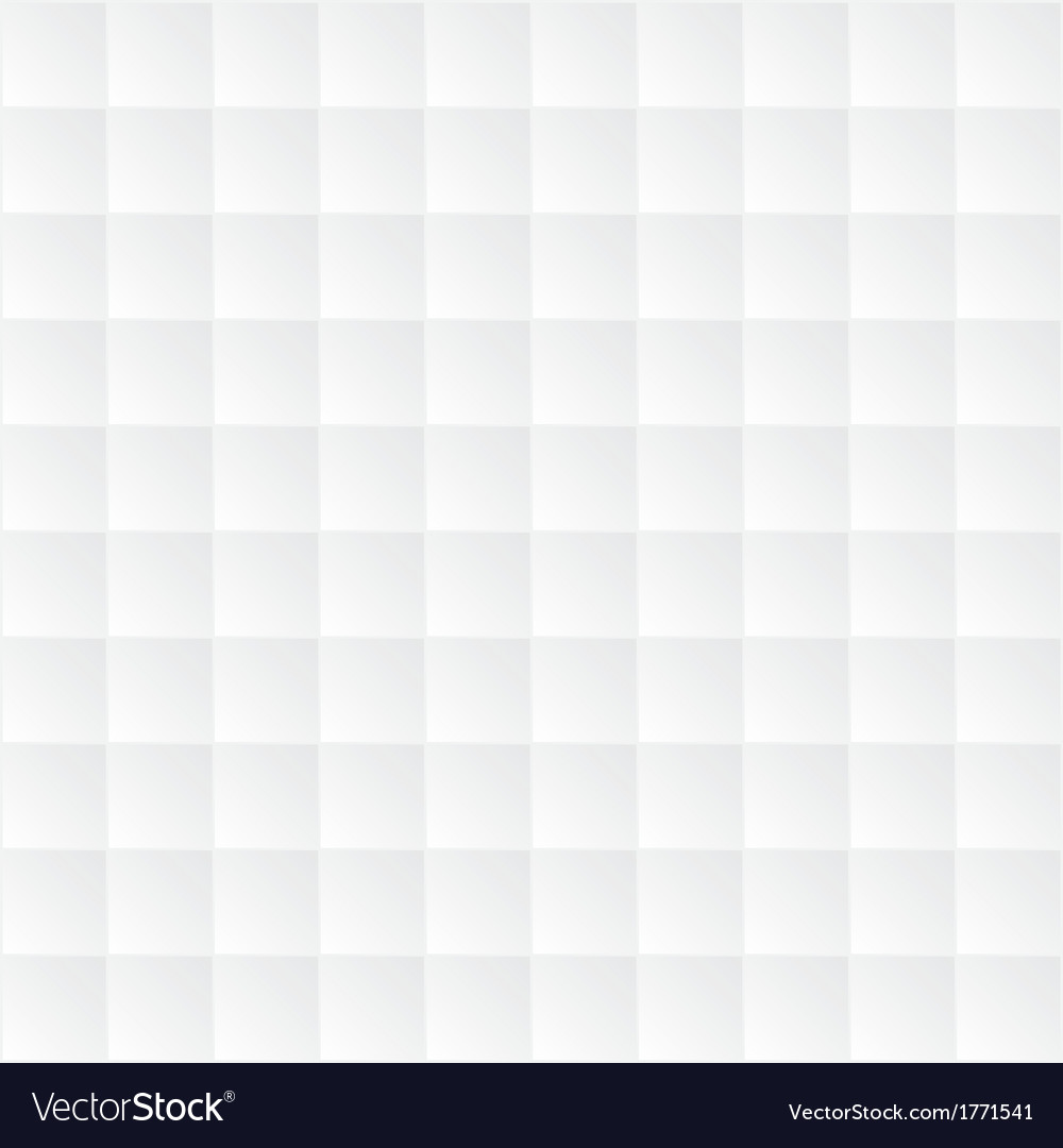 Abstract white square background vector image