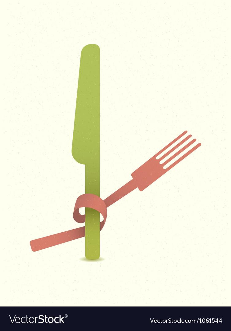 Vintage restaurant menu retro poster vector image
