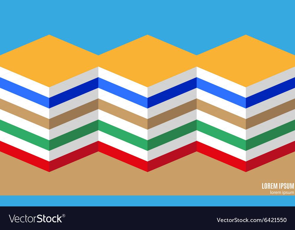Abstract design concept backgound vector image
