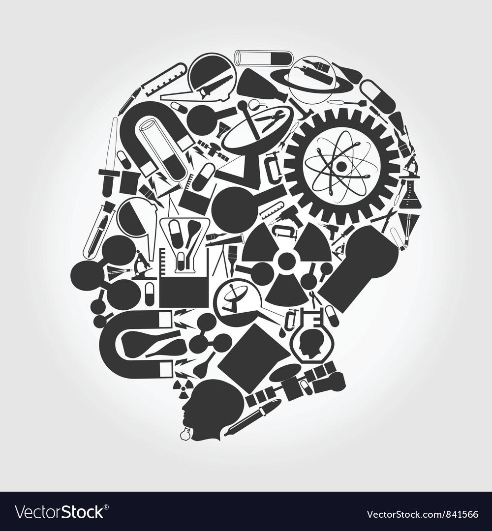 Brain vector image