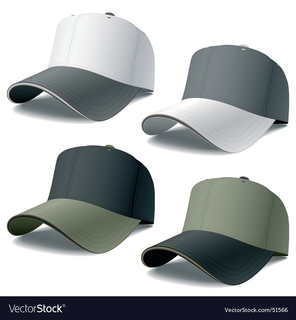 Caps vector image