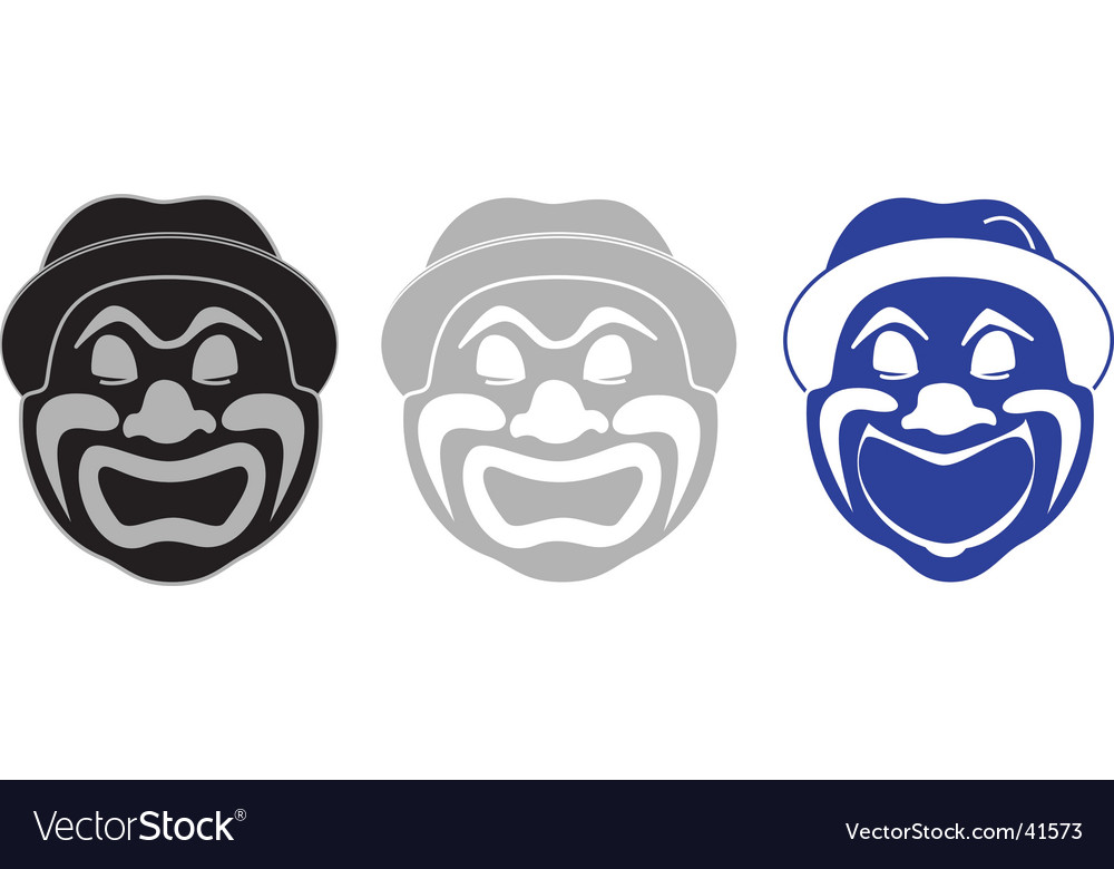 Fun clown Vector Image