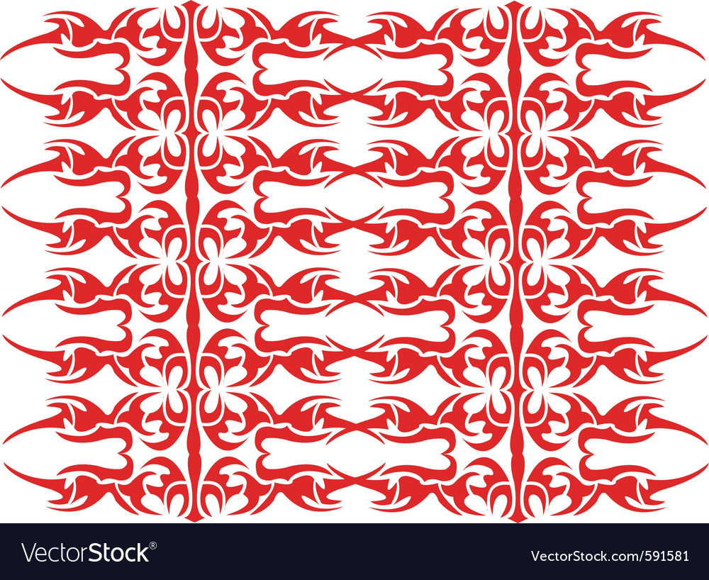 Tribal repeat patterns vector image