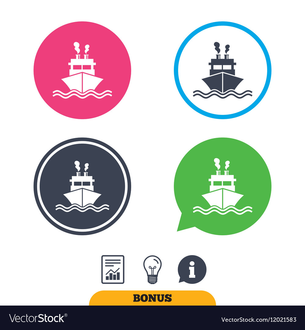 Ship or boat sign icon shipping delivery symbol vector image ship or boat sign icon shipping delivery symbol vector image buycottarizona