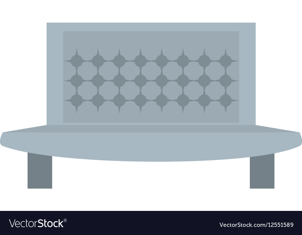 Sofa furniture house relax vector image