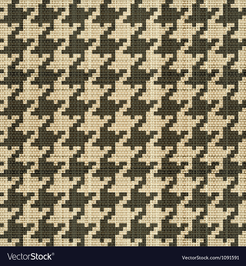 Hounds tooth vector image