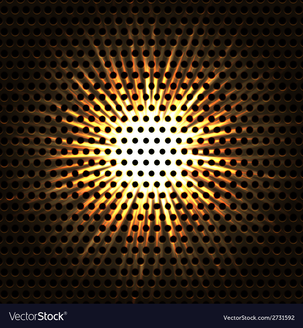 Abstract background elegant metallic circles vector image