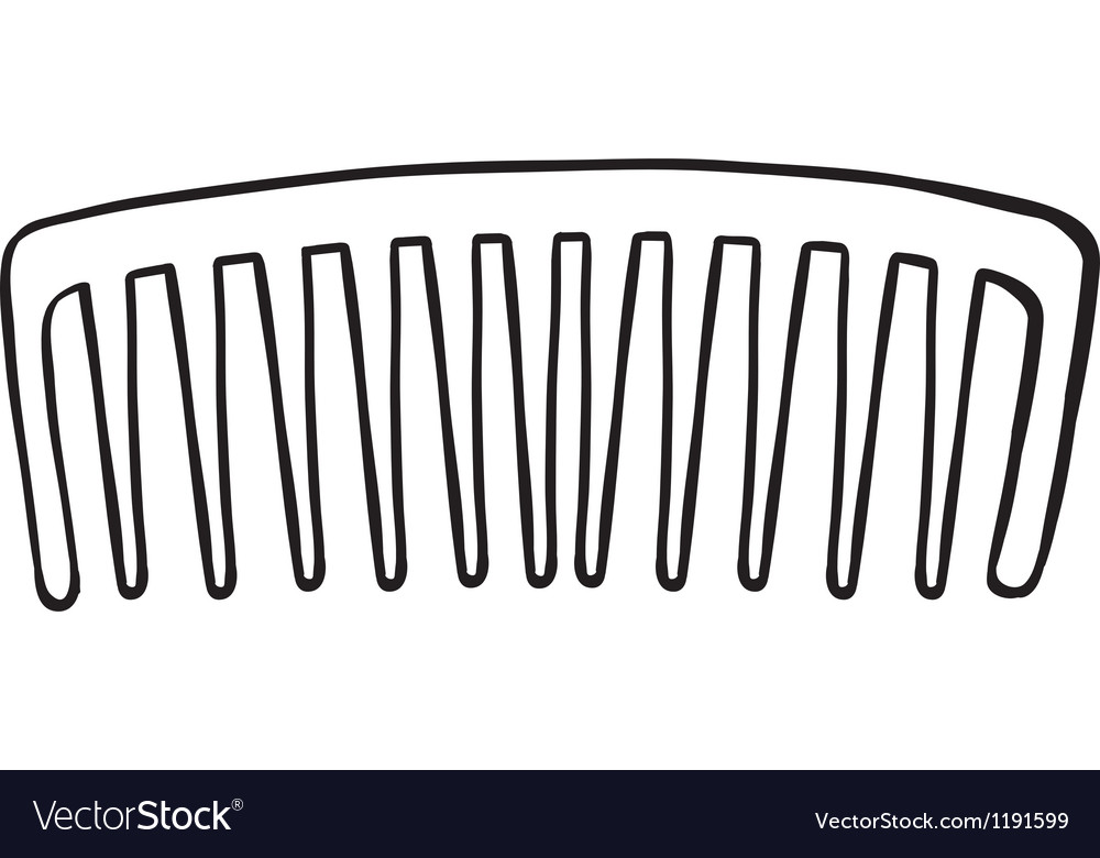 A comb vector image
