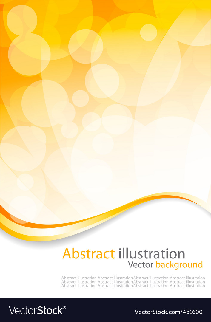 Abstract colorful circles vector design vector image