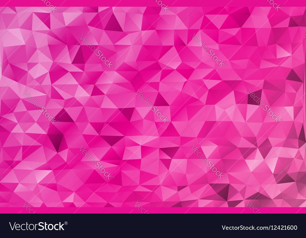 Pink Valentine Day romantic love vector image