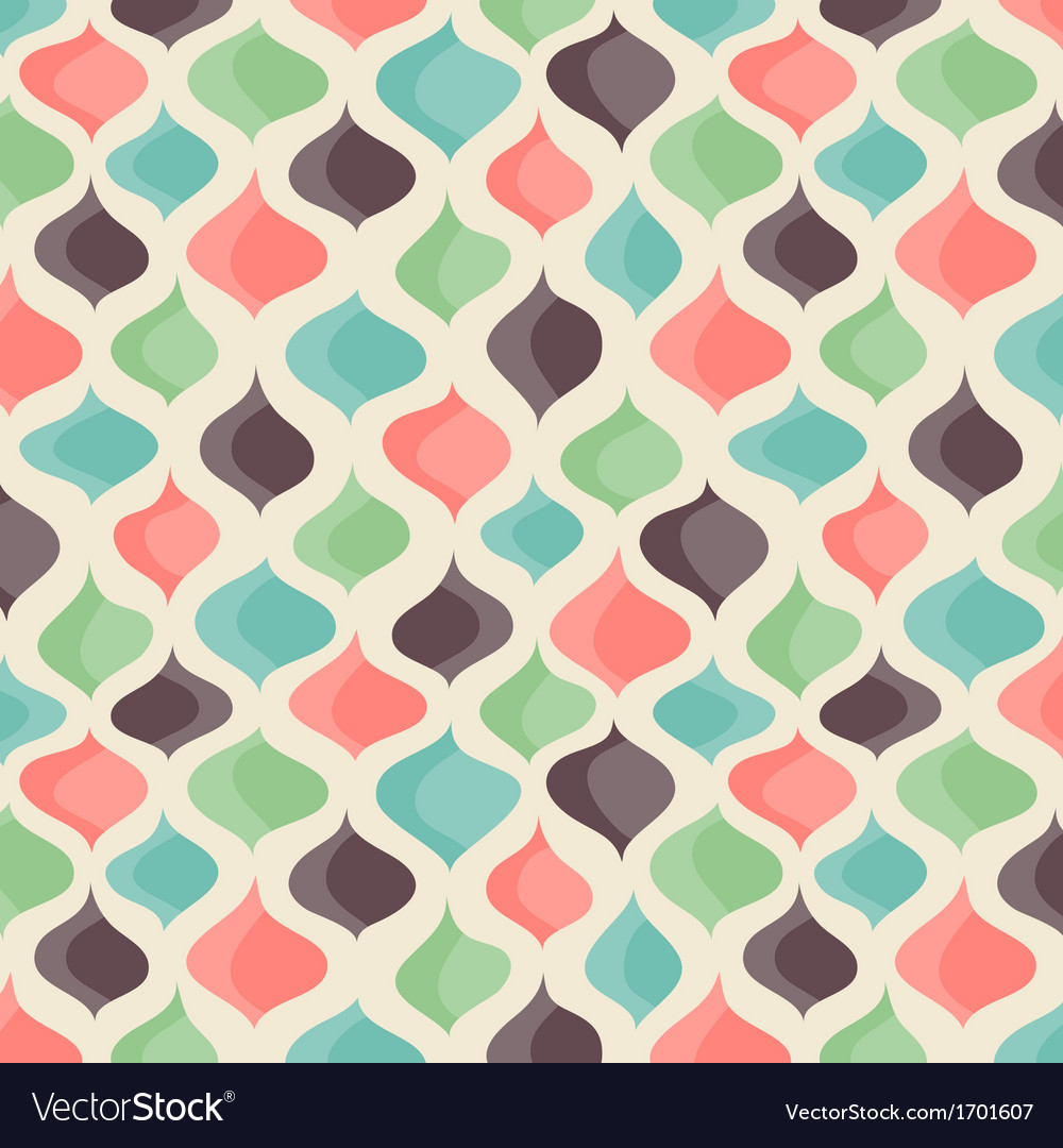 Funny Retro backgrounds vector image