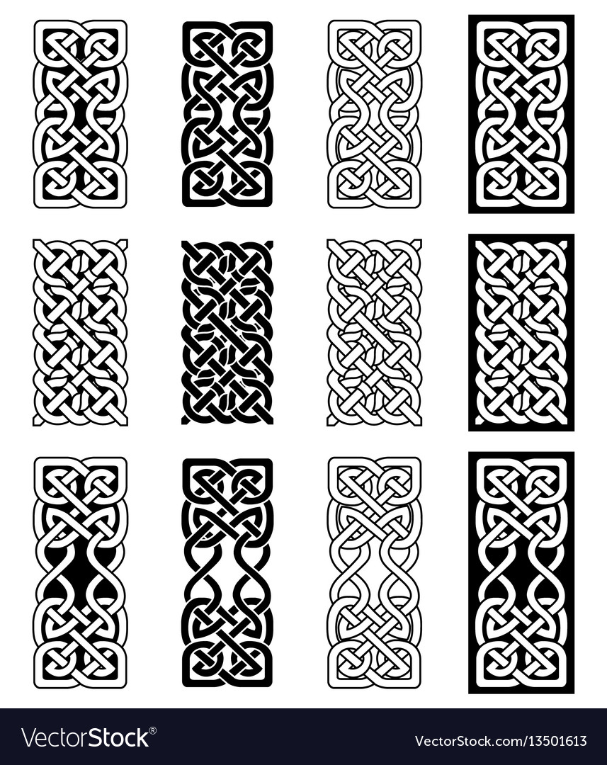 Celtic knot inspired by scottish irish carving vector image celtic knot inspired by scottish irish carving vector image buycottarizona