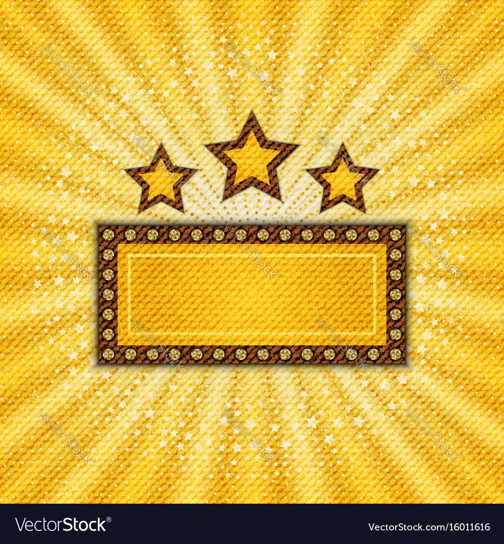 Textile marquee vector image