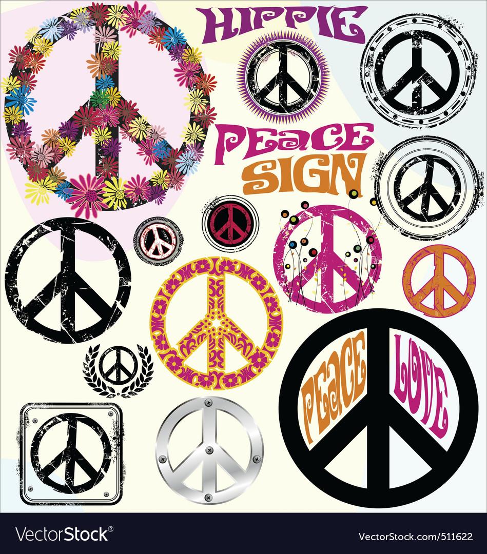 Peace symbols royalty free vector image vectorstock peace symbols vector image biocorpaavc Images