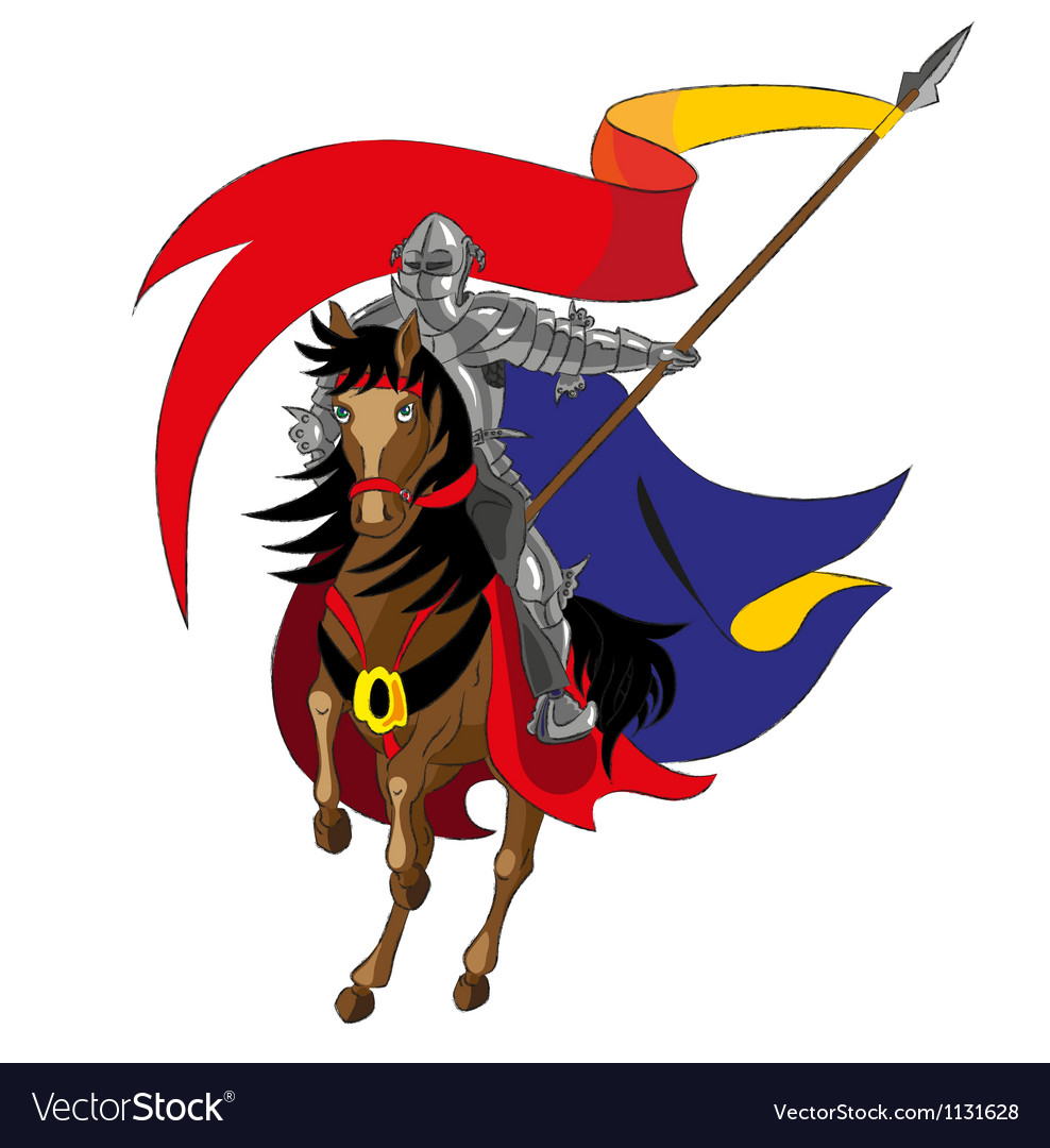 The knight vector image
