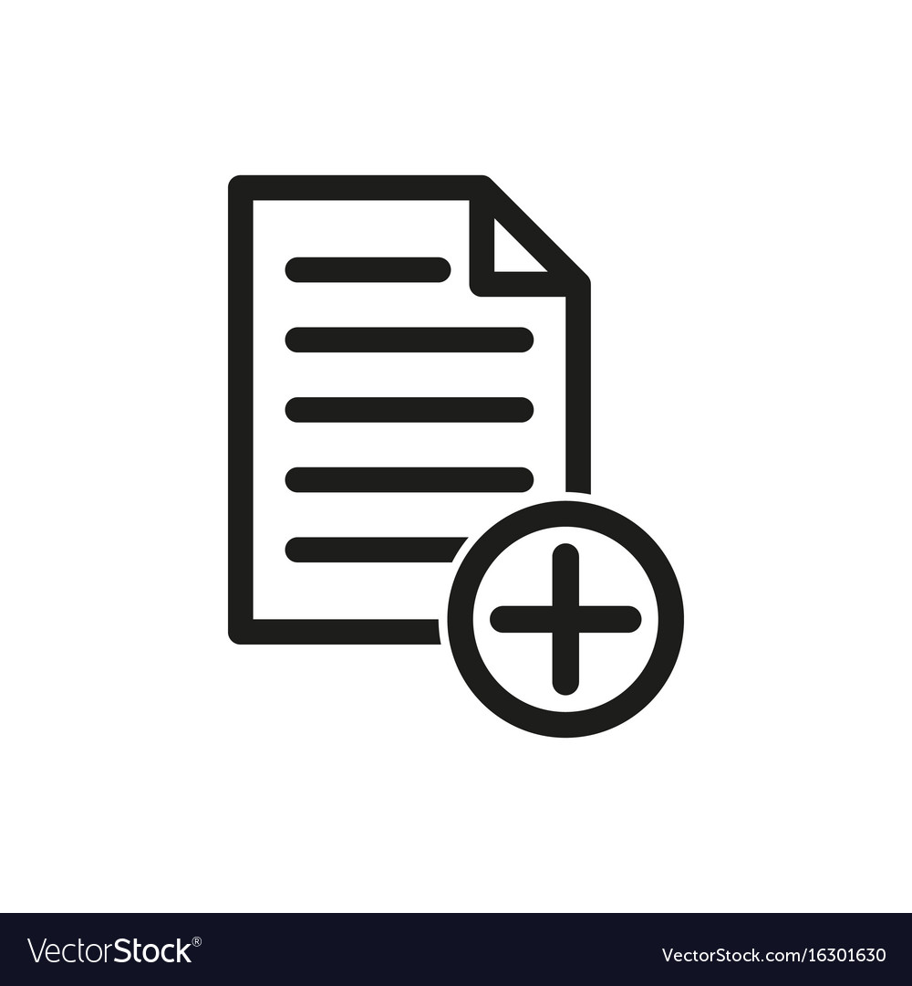 Add file icon royalty free vector image vectorstock add file icon vector image buycottarizona