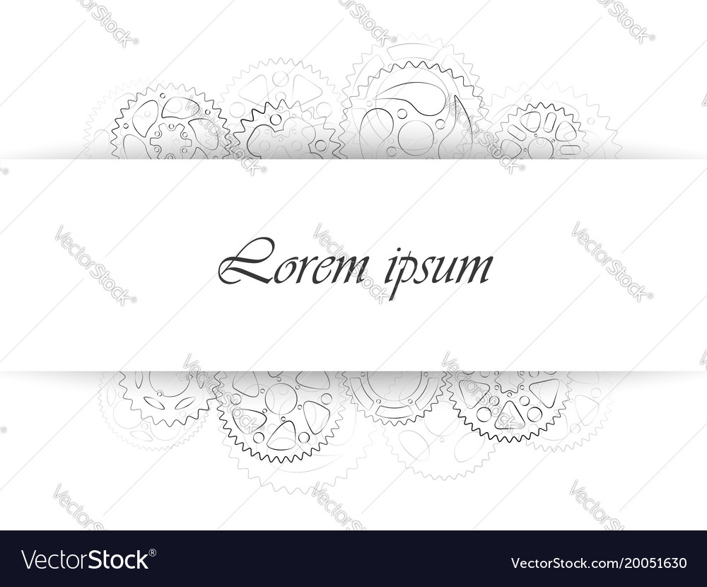 Business card template or wedding invitation vector image wajeb Image collections