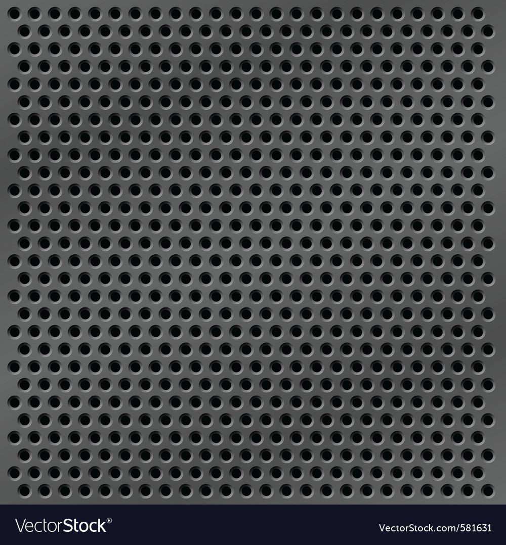 Metal mesh background vector image