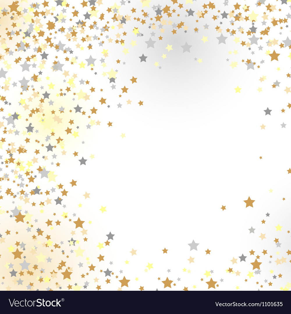 New Years background vector image