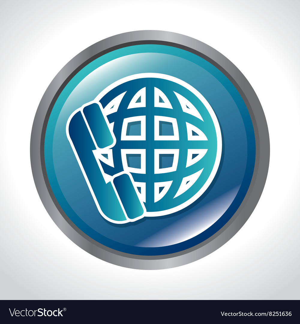 Roaming international design vector image