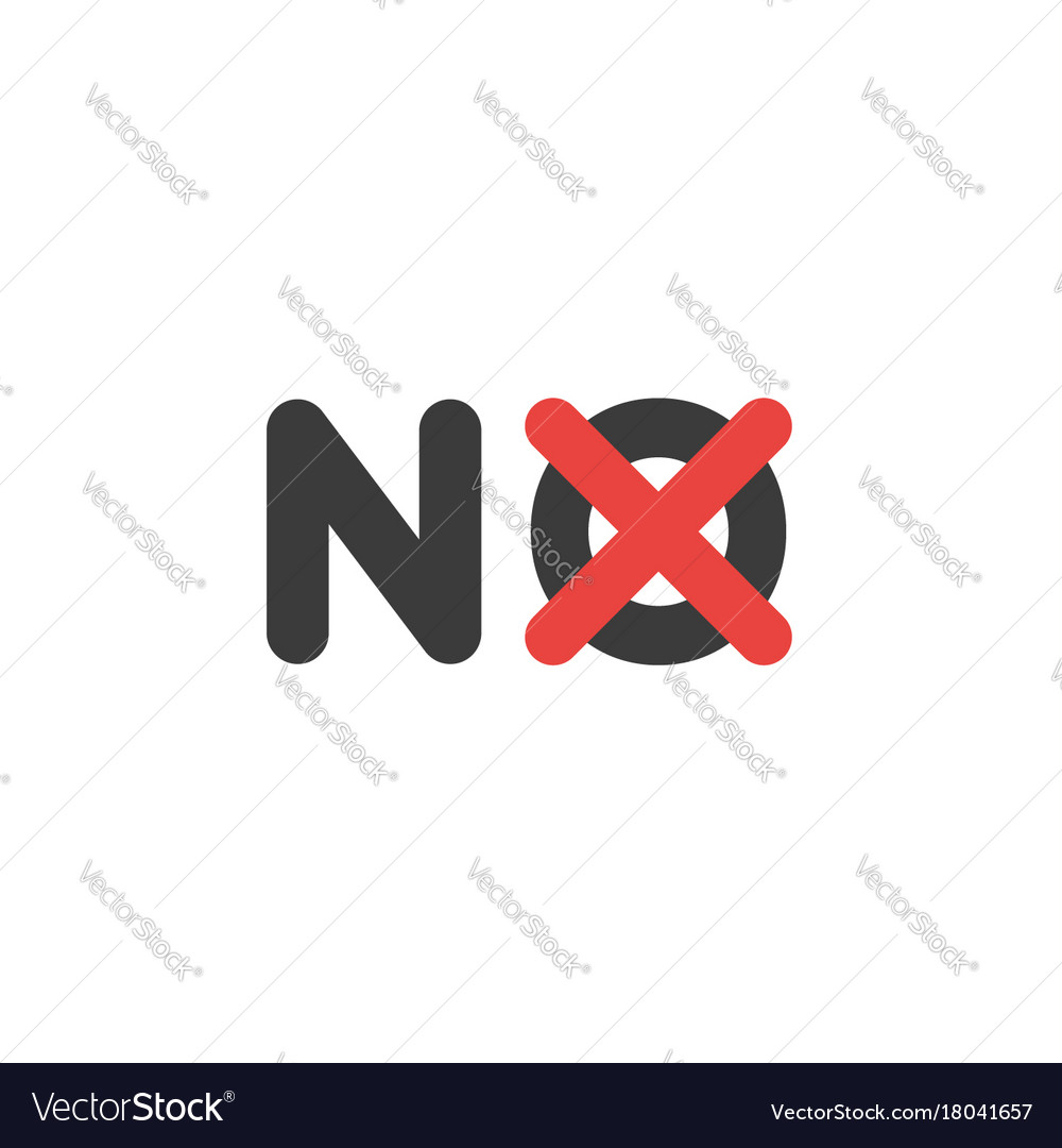 Flat design style concept of no text with x mark vector image flat design style concept of no text with x mark vector image buycottarizona