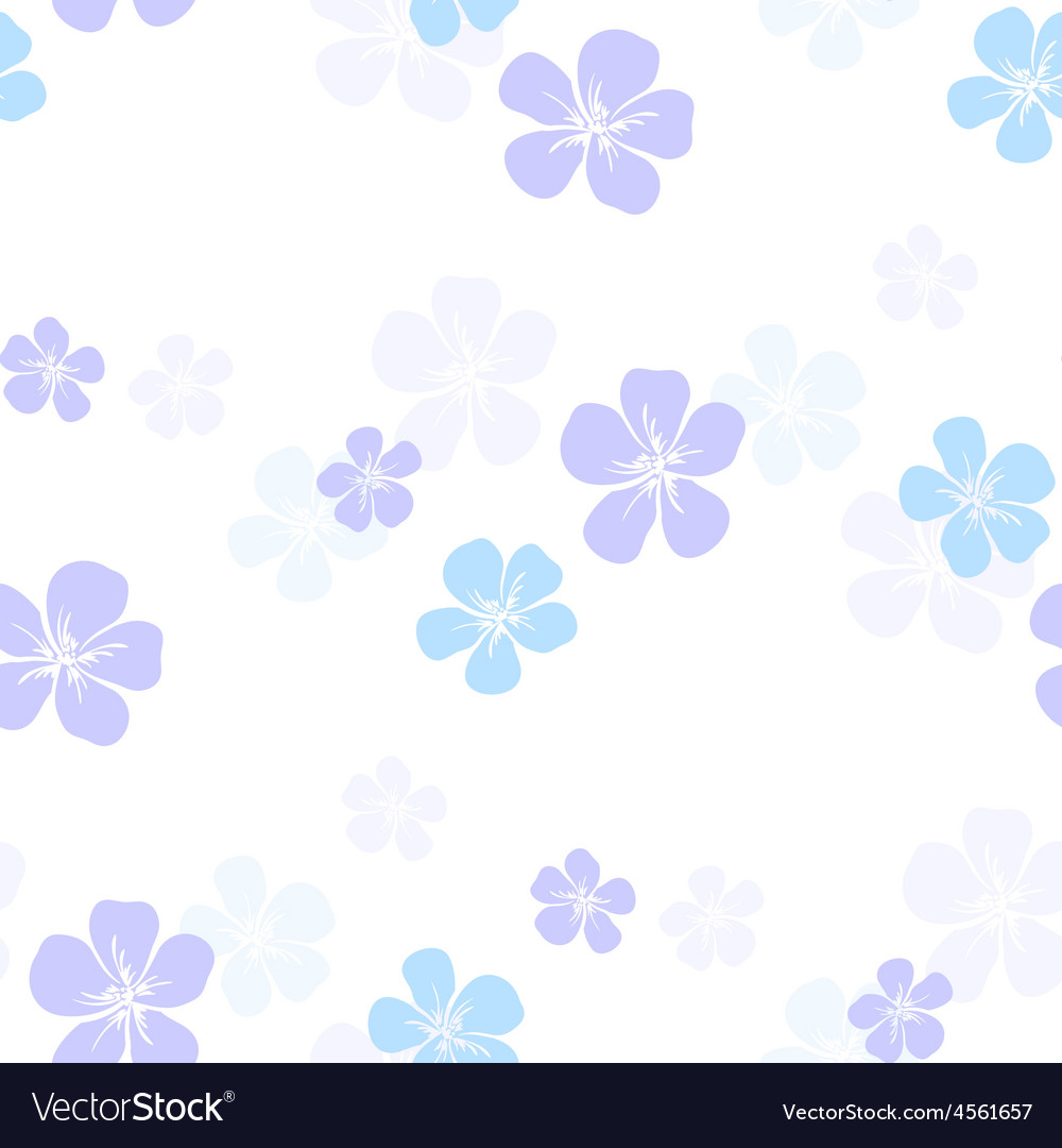 FlowersBackground6 vector image