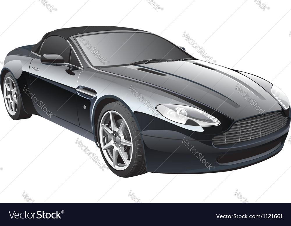 Gentlemans car vector image