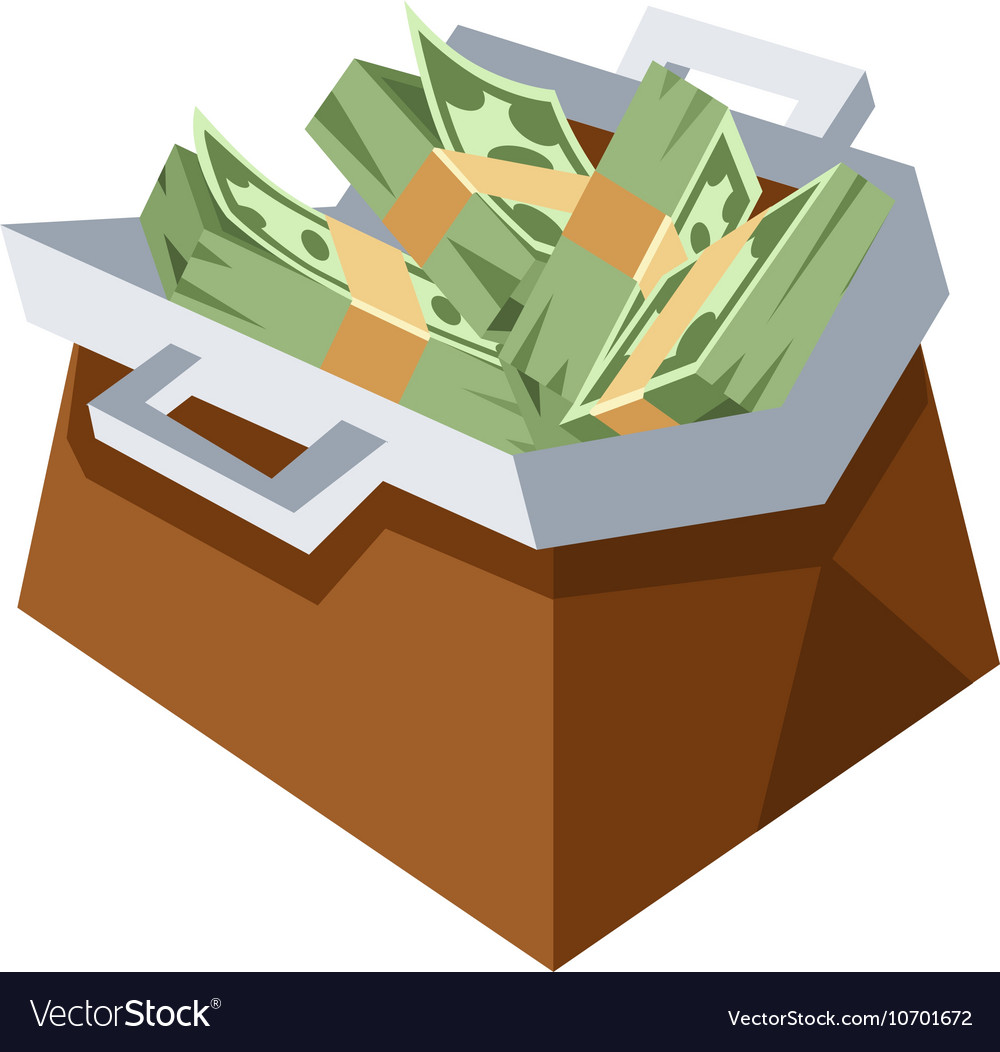 Money bag sign icon vector image
