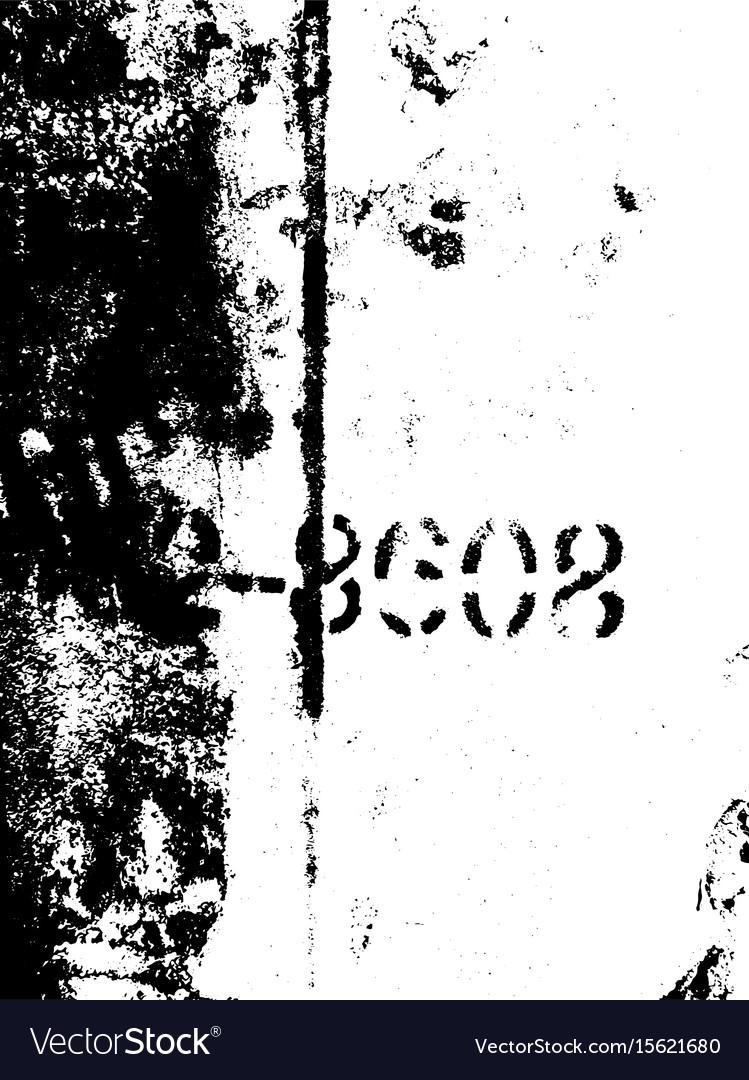 Destroy texture 3 vector image