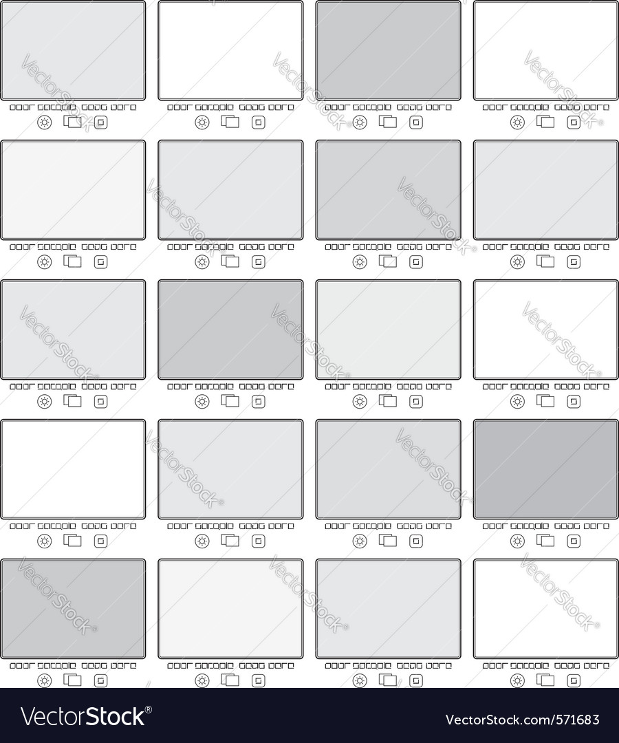 Blank gallery frames Vector Image