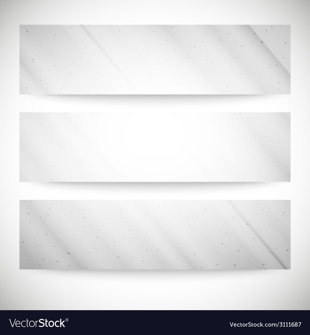 Set of grunge backgrounds single color clear vector image