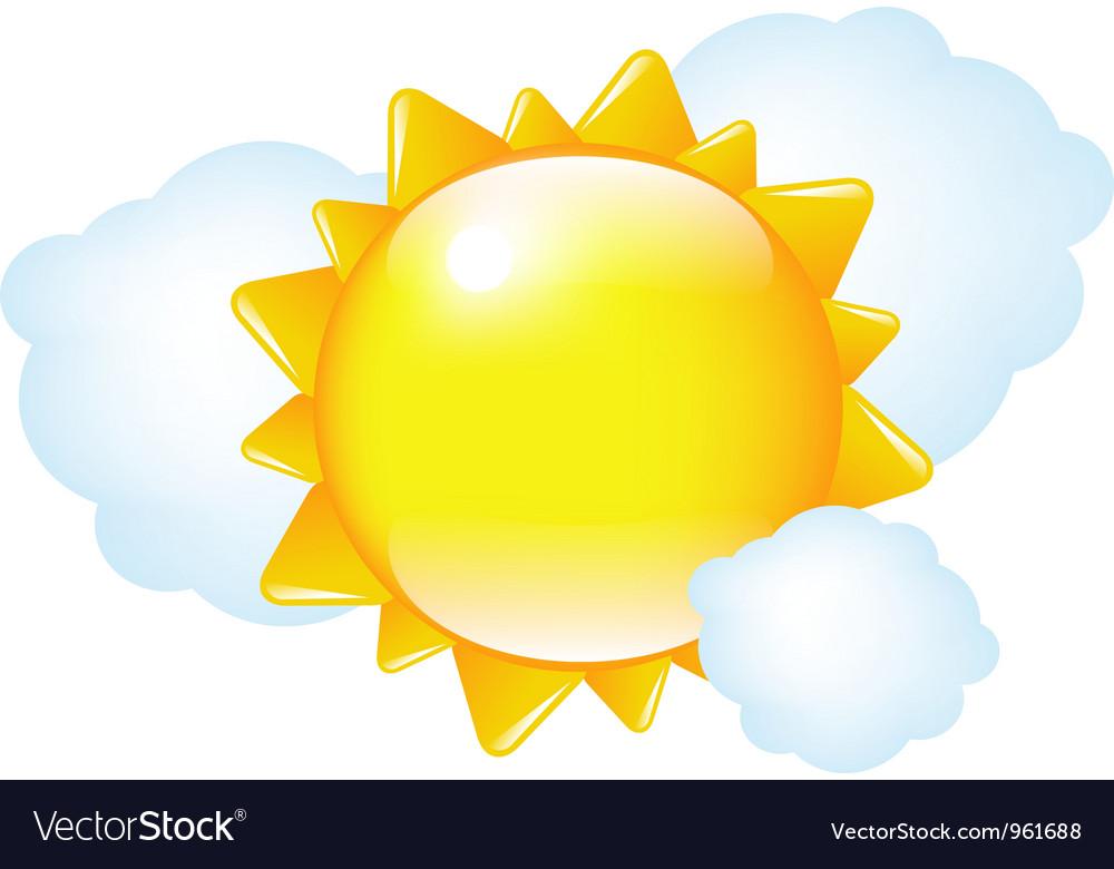 Weather Cartoon vector image