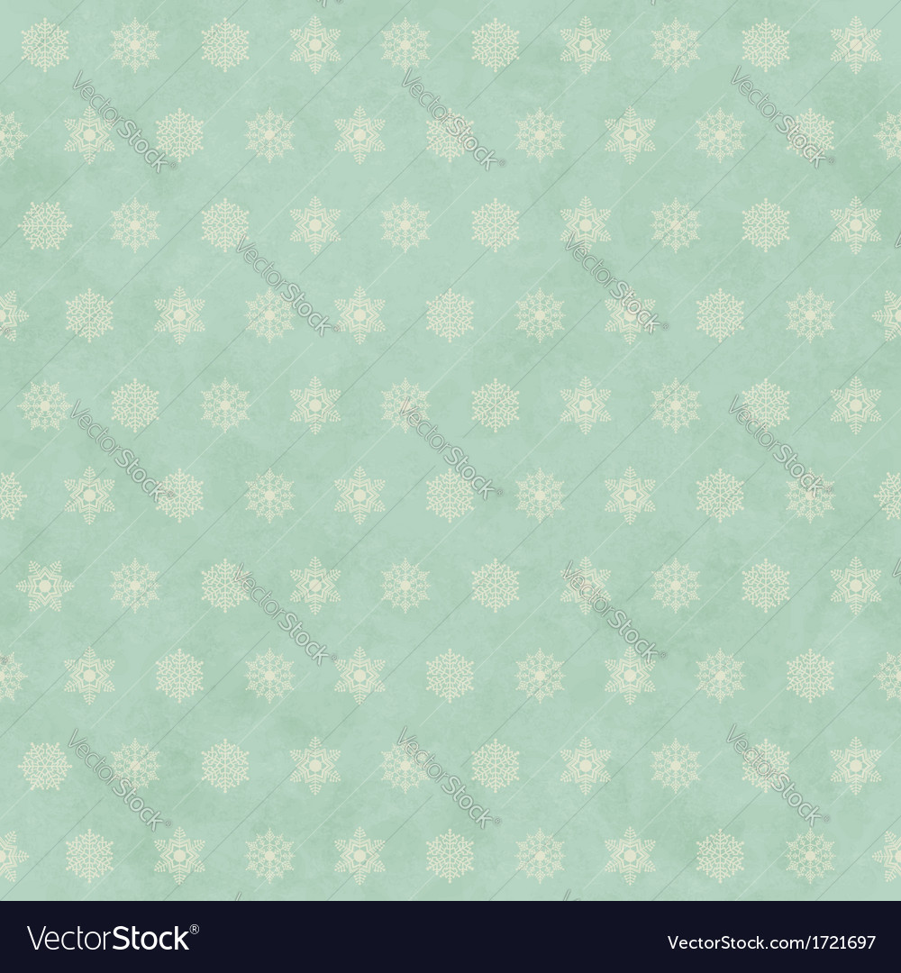 Christmas winter retro seamless pattern background vector image