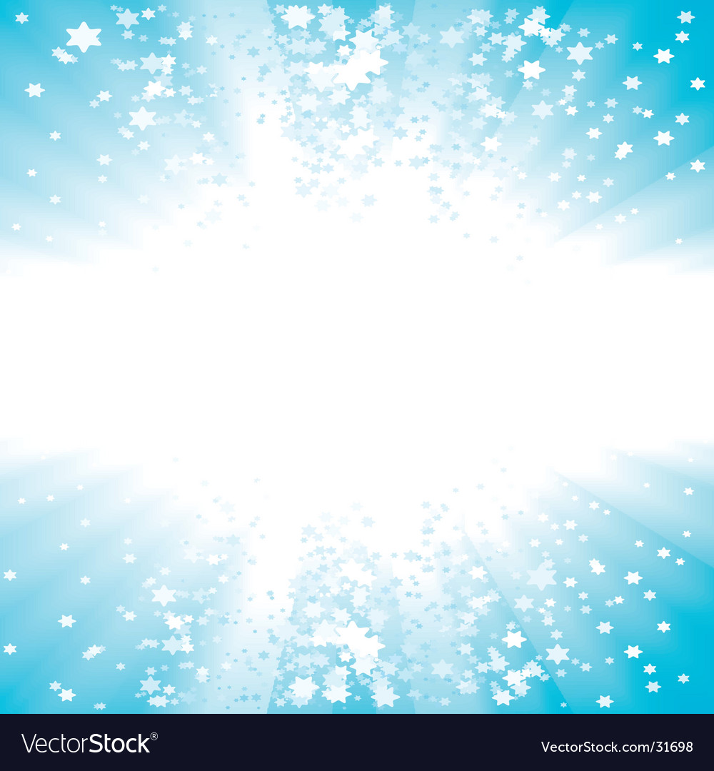 Party stars copy space background vector image